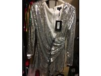 Brand New Silver Playsuit