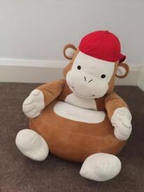 Monkey toddler seat