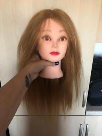 Hair dressing practice heads