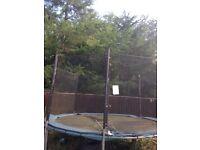 15 feet trampoline safety net.
