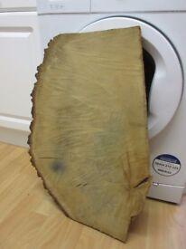 raw piece of oak