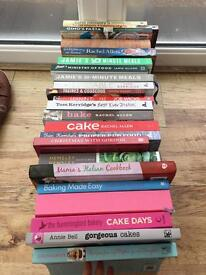 23 cook books. Some perfect condition not even used!