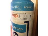 Insulting 25mm Superglass Acoustic Partition Roll 2/600 x 22.5m (27m²) 5526 X14 rolls