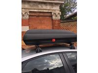 Roof box, tow bar and roof rack for sale