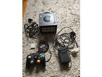 Gamecube Console with Official Controller, Memory Card & Resident Evil