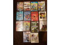 14 x Various PC CD Rom Games