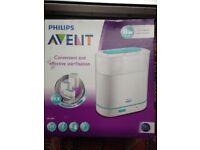 New 3 in 1 Philips steriliser in box