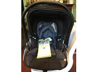 Brand New Kiddy evolution pro2 car seat . A car seat with lie flat position for baby rrp £120