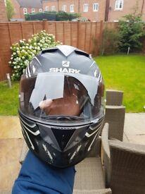 Helmet- Shark. Excellent condition.