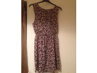 New Look floral dress size 16