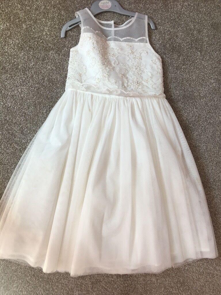 Age 6 debenhams bridesmaid dress in bolton manchester gumtree age 6 debenhams bridesmaid dress ombrellifo Images