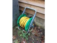 Hose pipe and reel