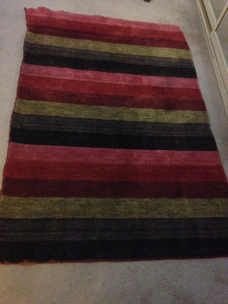 Stunning KERALA 100% wool rug 1.20x1.80