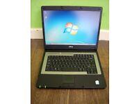 "Dell 15.6"" Inspiron 1300 Laptop, Fresh windows 7 Install, Good runner, Good Cheap Laptop"