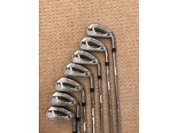 Taylor Made M1 irons, 4-PW, stiff shaft