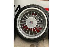BMW alpina alloy wheels 17'' tyres good condition