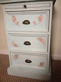 One up cycled 3 draw bedside unit!!!