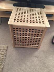 Ikea hol table storage toy box
