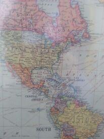World Map c.1960