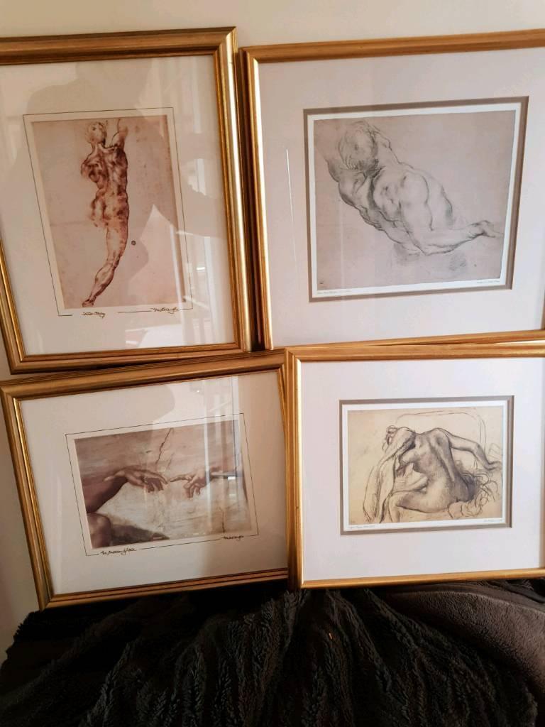 a5a8d708d1b9 Gold framed prints. Blairgowrie
