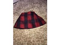Baby Girls Tartan Skirt > 12 -18 months