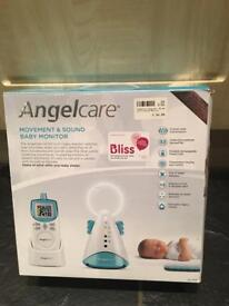 Angel care baby monitor movement and sound RRP £85