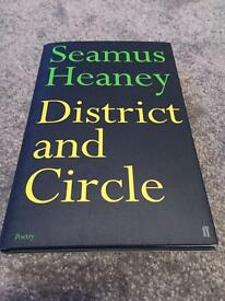 Seamus Heaney signed book District and Circle