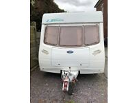 Six 6 berth touring, Lunar Zenith 2005, fixed bunks, one previous owner, serviced. Excellent cond.