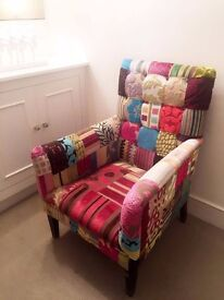 PATCHWORK ARMCHAIR - one of a kind!