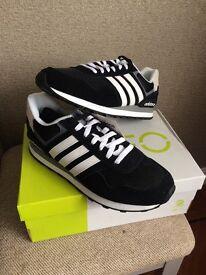 Adidas 10K NEO Ortholite Running Trainers - Men's U.K. size 9.5
