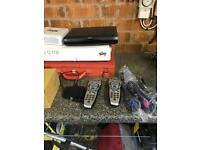 Sky+ HD Box, Sky Multiroom Box, Router and Accessories