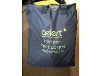 Large Gelert Horizon tent carpet