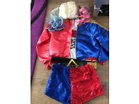 Harley Quinn dress up costume size medium