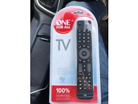ONE FOR ALL TV remote control - BRAND NEW UNOPENED - £10