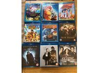 Bunch of blu-rays to sell (Some Disney!!) (9 in total) £20 the lot