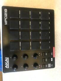 AKai MPD 218 Drum Pad-Great condition