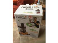 Jason Vale's Fusion Juicer - pickup Andover