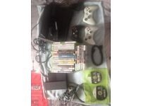 Xbox 360 bundle over 20 games 3 controllers and lots more