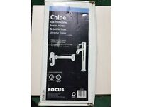 NEW Chloe Tall Monobloc Basin Mixer Tap & Bottle Trap Chrome