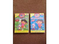 Dora the explorer DVDs x2