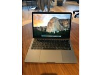 2018 MacBook Pro 13 inch with Touch Bar Space Grey 512 GB SSD version 3 weeks old