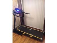like new treadmill used about 5 times