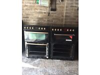2 belling cookers for sale , both need oven doors hence cheap price