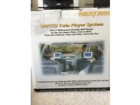 Next Base Portable DVD Players SDV77-BD TWIN Pack In Car Or Mains BOXED MINT!