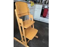 Baby Dan High Chair/Toddler chair Free to collect.