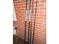 leeda sea fishing rods and 2 reels