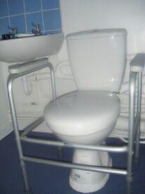 Toilet Rail - toilet surround to assist in bathroom