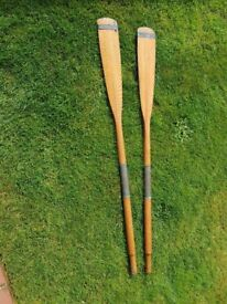 A pair of Oars