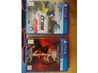 PS4 Games Tekken 7 and The Crew