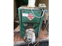 Oil boiler for sale, working well when taken out for gas conversion £90